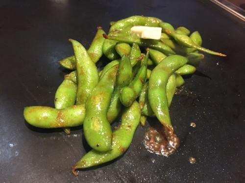 枝豆は焼くもの