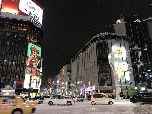 大雪の北海道