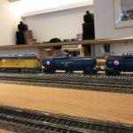 鉄道が走るカフェ
