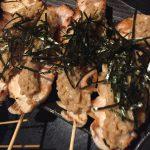 焼き鳥×納豆