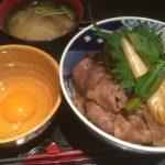 神戸牛の牛丼